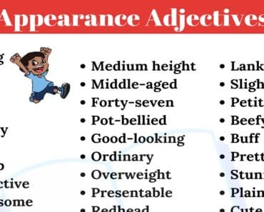 50+ Useful Appearance Adjectives to Describe People in English 1