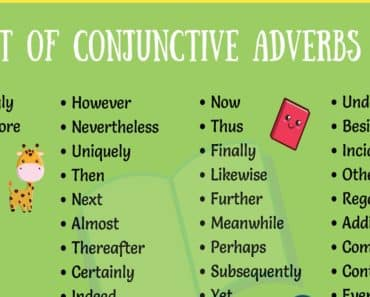 List of 50+ Popular Conjunctive Adverbs for English Students 1