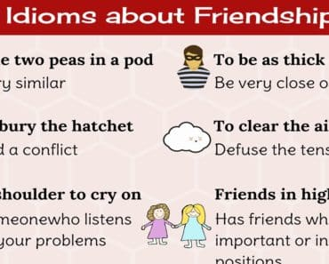 10 Popular English Idioms about Friendship and Relationships 1