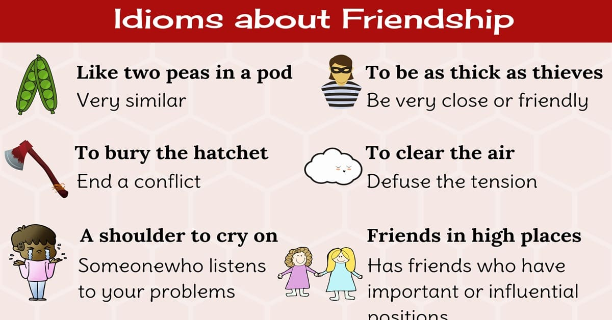 Idiom about Friendship