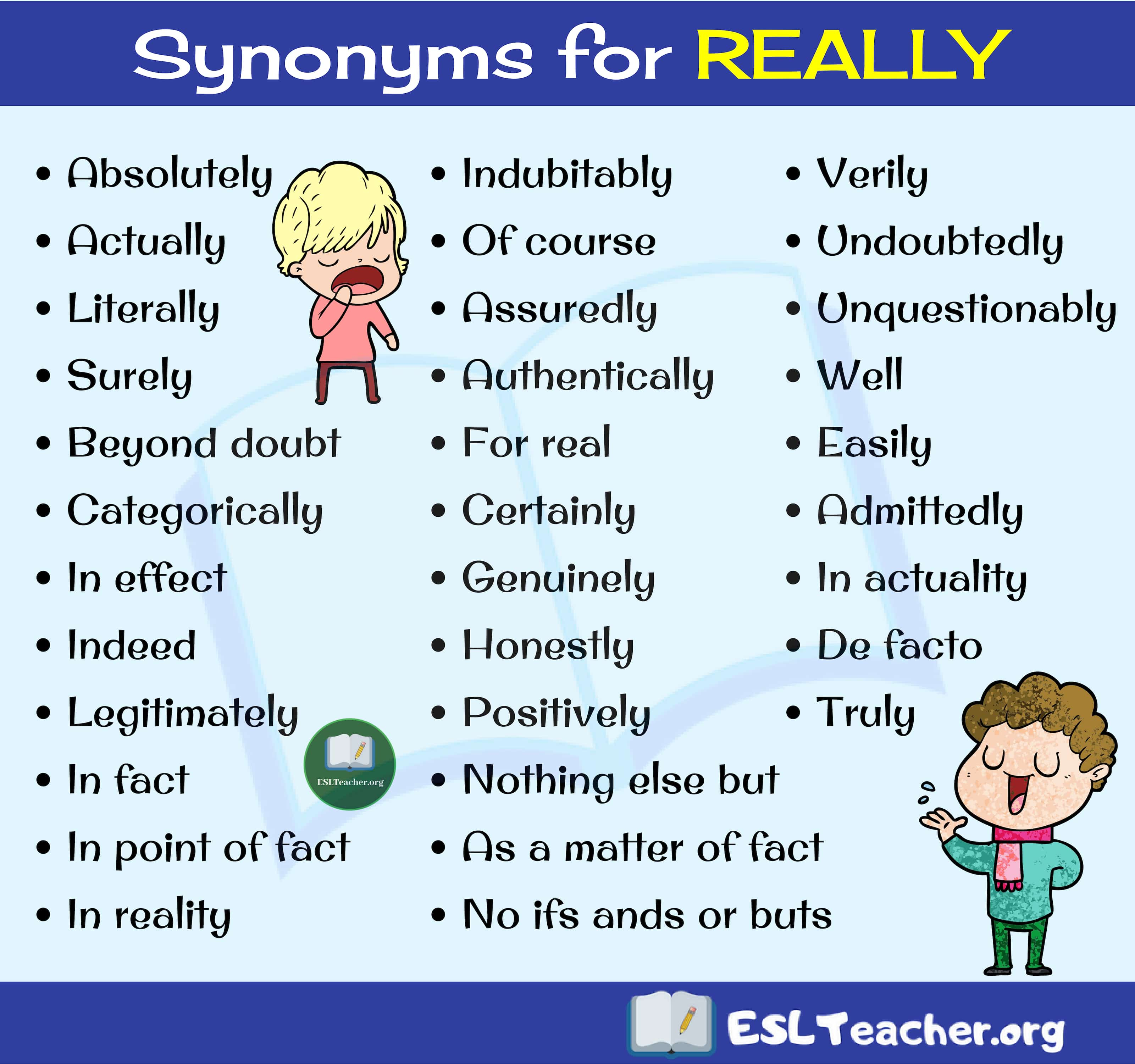 REALLY Synonyms
