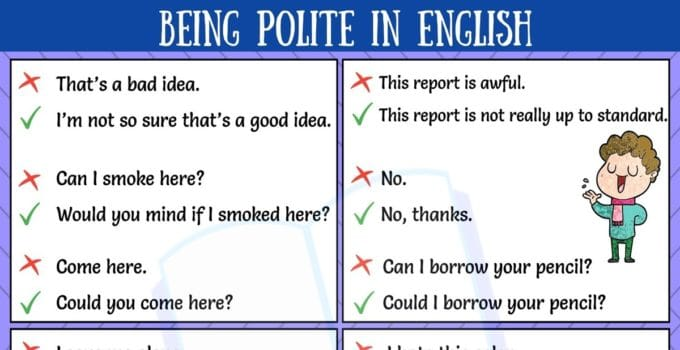 Expressions for Being Polite
