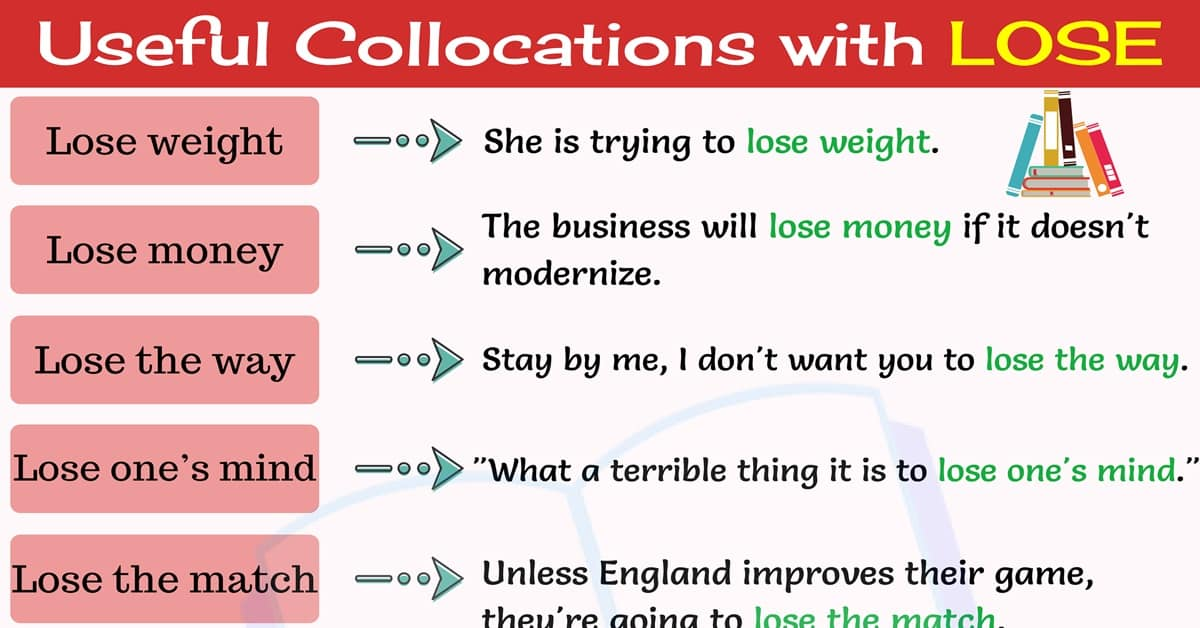 10 Interesting Collocations with LOSE in English 1