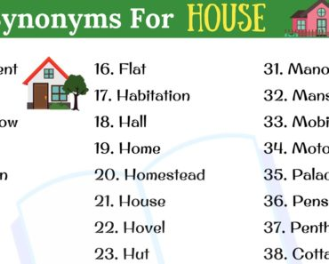 HOUSE Synonym: 40+ Popular Synonyms for HOUSE in English 1