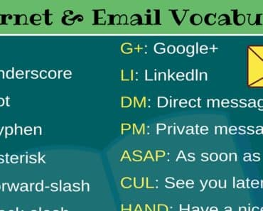 26 Popular Email and Internet Acronyms You Need to Know 1