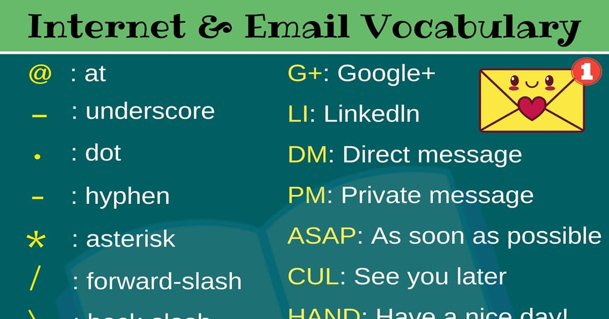 Internet Acronyms: 26 Popular Email and Internet Acronyms You Need to Know 2