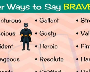 BRAVE Synonyms: 22 Different Ways to Say BRAVE in English 1