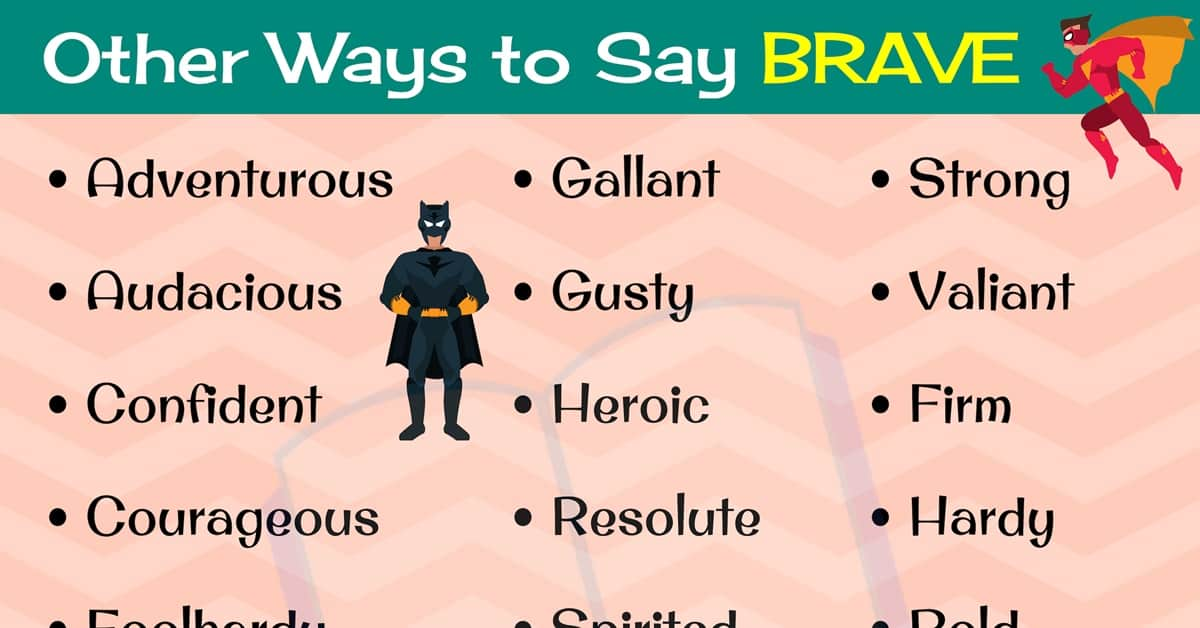BRAVE Synonym: 22 Different Synonyms for BRAVE in English 2