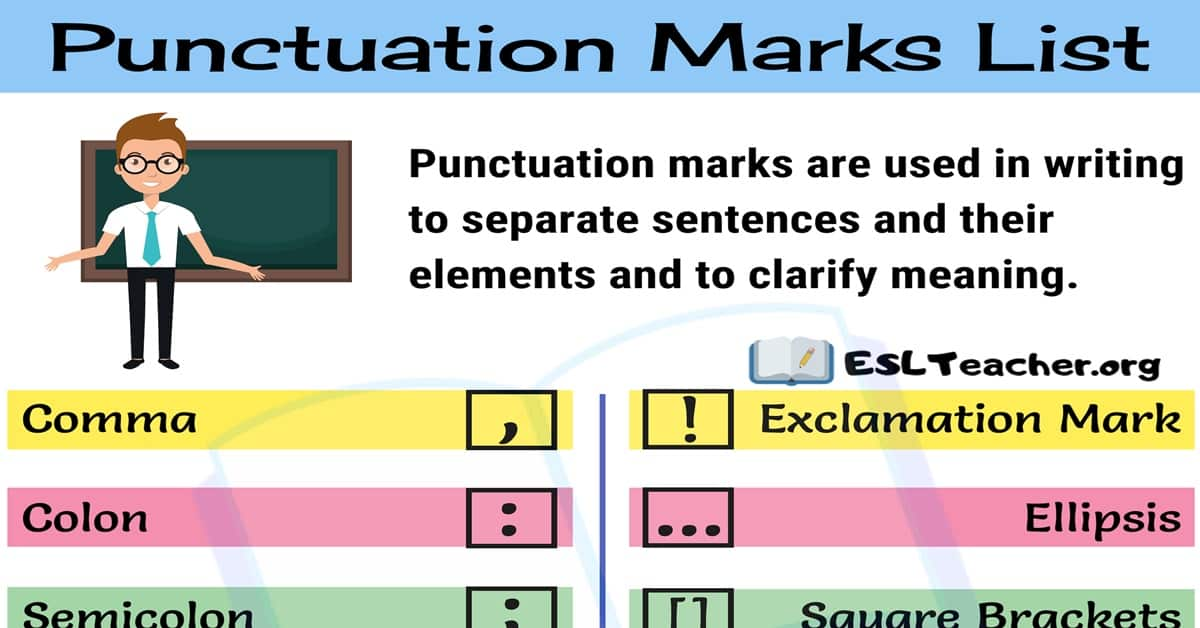 Punctuation Marks: 14 Punctuation Marks You Need to Master 2