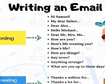 How to Write an Email in English | Smart Tips for Writing 1