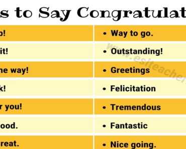 Congratulations Synonym