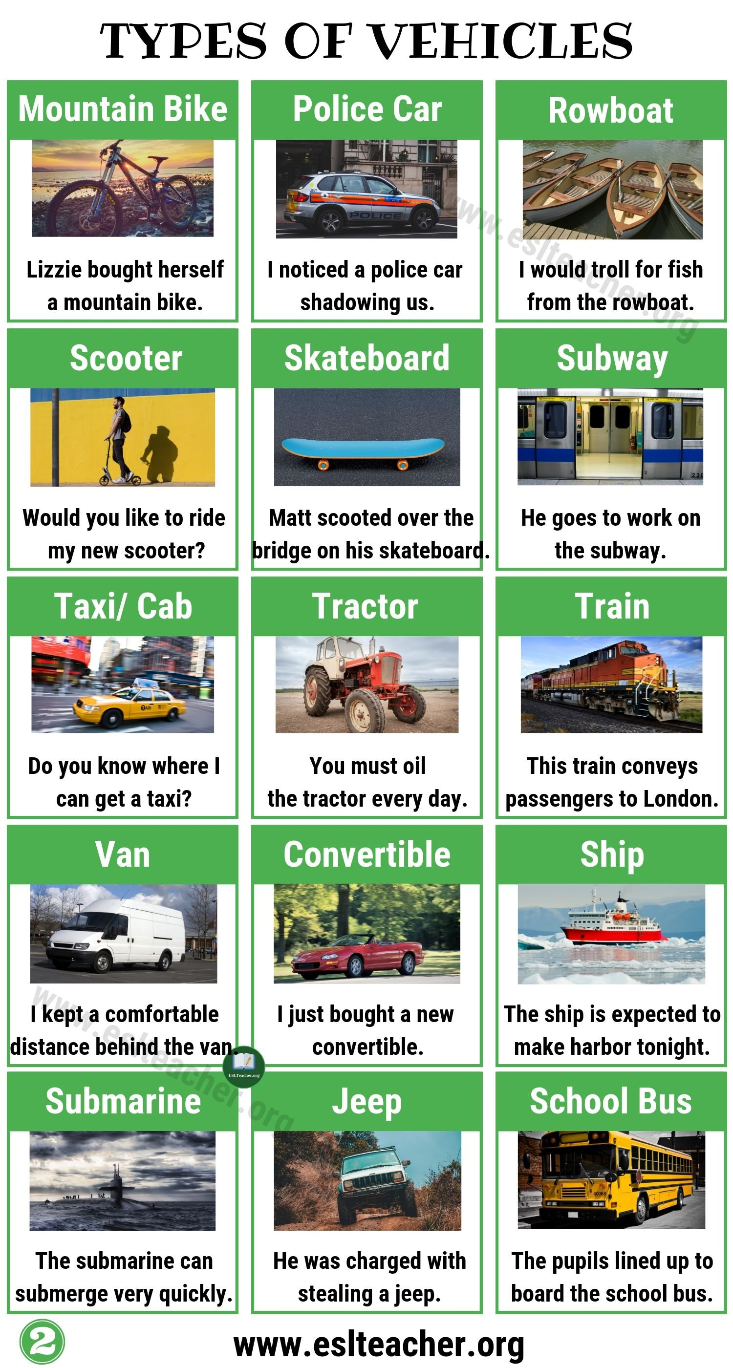 Vehicle Types